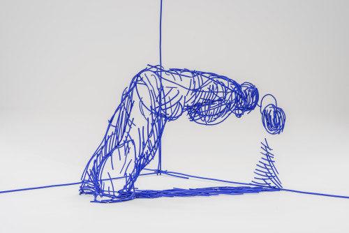 Lublin, 27.02.2015 Galeria Labirynt - Olaf Brzeski - Czu³e spojrzenie - otwarcie wystawy Fot. Wojciech Pacewicz